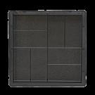 Квадрат 30x30 (восемь кирпичей)