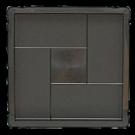 Квадрат  «Кирпич» - шагрень  стандарт ( 300x300х30)