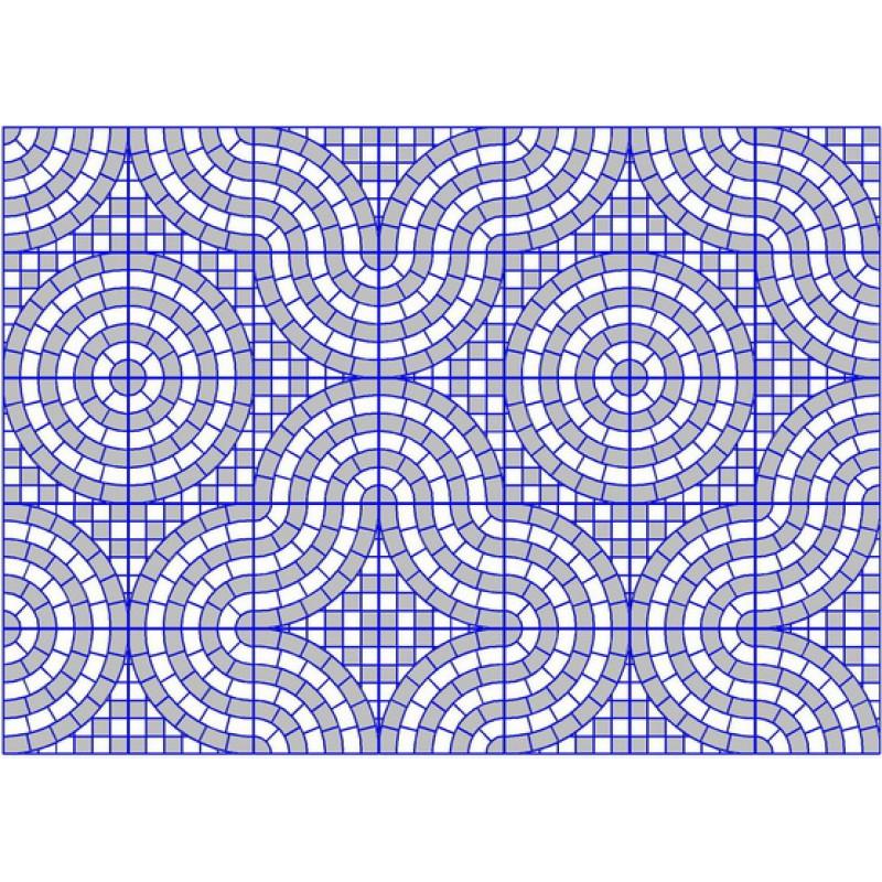 Квадрат  «Колодец» ( 350x350х50)