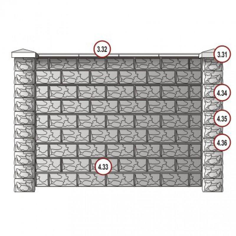 Блок (400x200x200)